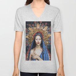 Mother of Mercy  Unisex V-Neck