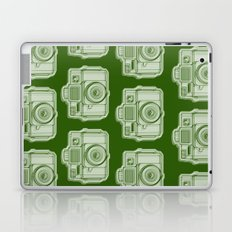 I Still Shoot Film Holga Logo - Reversed Green Laptop & iPad Skin