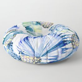 Bahamas - blue Floor Pillow
