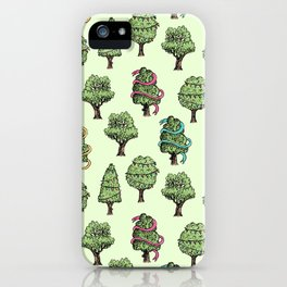 Decorated Trees iPhone Case