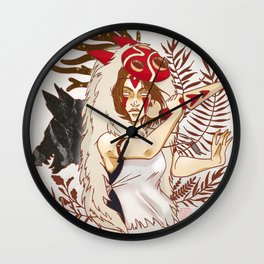 Princess Mononoke Wall Clock