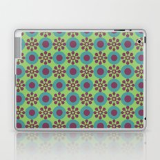 Retro Modern Flower Power Laptop & iPad Skin