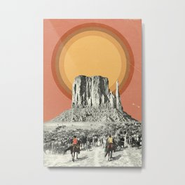 Herd Metal Print