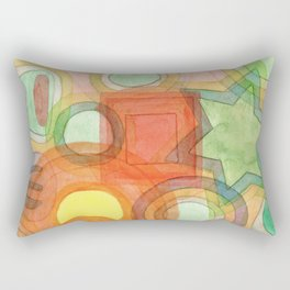 Various Things lit by the Moon Rectangular Pillow