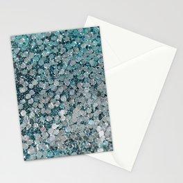 Mermaid Scales Aqua Sol Stationery Cards