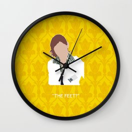 The Blind Banker - Molly Hooper Wall Clock