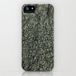 Scribble iPhone Case