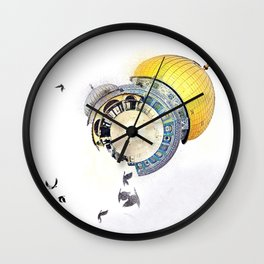 jerusalem - alquds Wall Clock