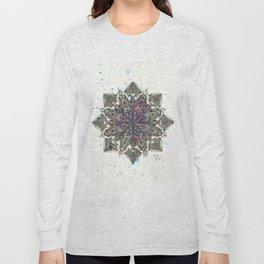 Zen Watercolor Mandala Full Long Sleeve T-shirt