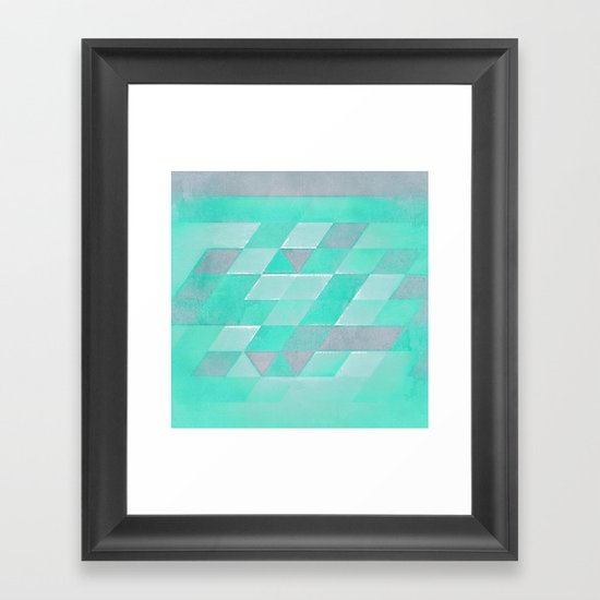 frynt Framed Art Print