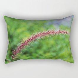 Purple Fountain Grass II Rectangular Pillow