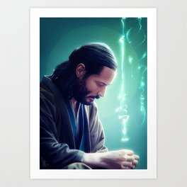 I will search for you Art Print