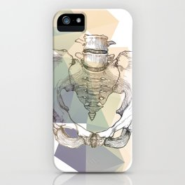 Pelvic Bone iPhone Case