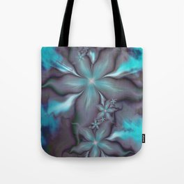 Aquafleur Fractal Tote Bag