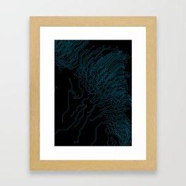 Circuit. Framed Art Print