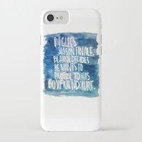 klaine iPhone & iPod Cases featuring klaine stan 4eva by Tiny M