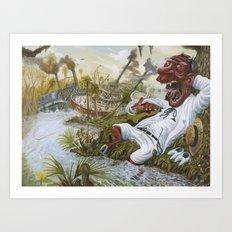 The Devil's Knee Art Print