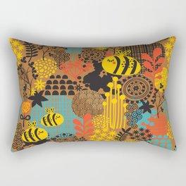 The bee. Rectangular Pillow