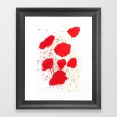 SPLATZ Framed Art Print