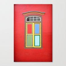 WINDOW SERIES - SINGAPORE Canvas Print