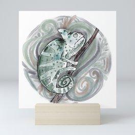 Chameleon  Mini Art Print