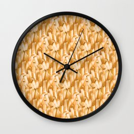 Fries Poring From Heaven Wall Clock
