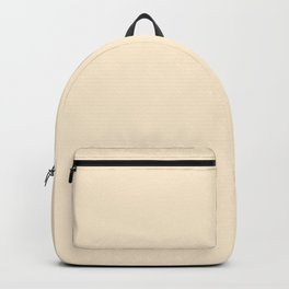 Papaya Whip - solid color Backpack