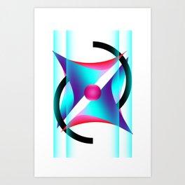 Points Art Print