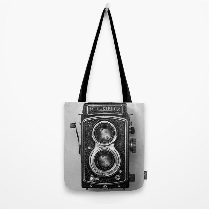 Rolliflex Camera Tote Bag