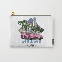 Miami, bedrock of diversity! Carry-All Pouch