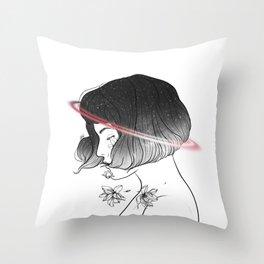 Universal treatment. Throw Pillow