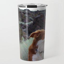 Day Dreaming Dog Travel Mug