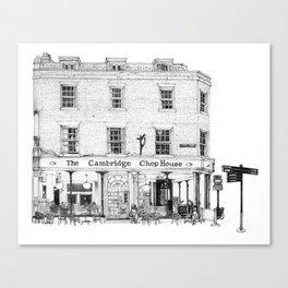 The Cambridge Chop House Canvas Print
