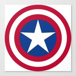 The Captain Shield Canvas Print