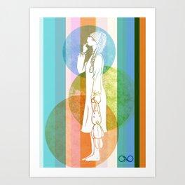 The Nightwalker Art Print