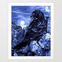 Born In The Skies, 2013 Art Print