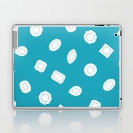 Blue Moissy Gem Pattern Laptop & iPad Skin