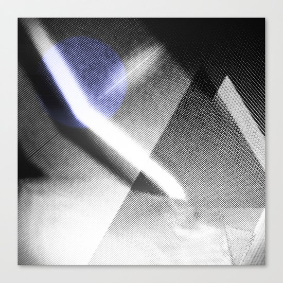 MOONLIGHT_B&W Canvas Print