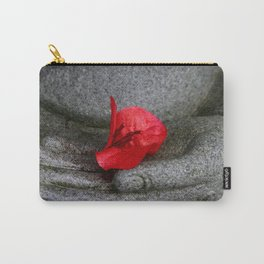 A Peace of Buddha in Photography Carry-All Pouch