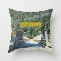 never stop exploring Throw Pillows featuring Never Stop Exploring by Louise
