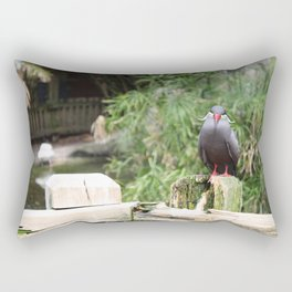 Just Saying Hi Rectangular Pillow