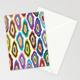 Diamond Blot Stationery Cards