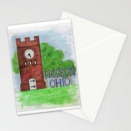 Hudson Ohio Clock Tower Stationery Cards