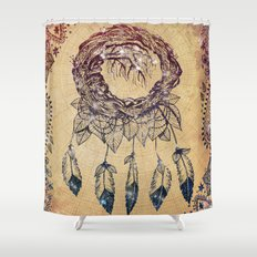 The Dreaming Tree III Shower Curtain