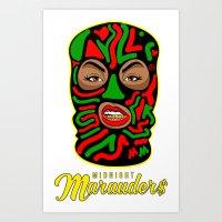 Midnight Marauder$ - Tribe Print Art Print