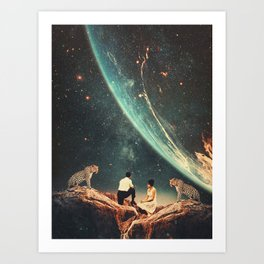 Guardians of our Future Art Print