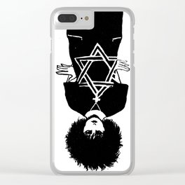 Siouxsie Sioux Clear iPhone Case