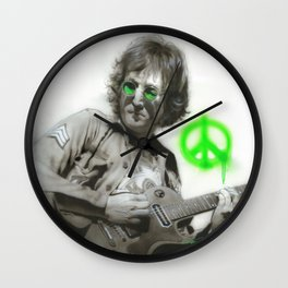 'LennonArtwork' Wall Clock