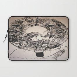 """Sup?"" - Snail Laptop Sleeve"