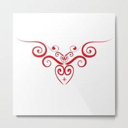 ANGEL'S HEART Metal Print